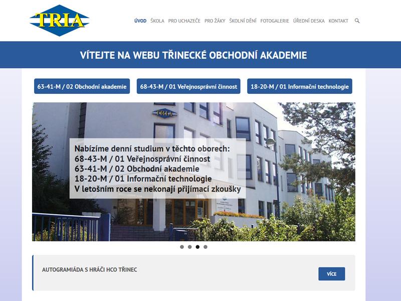 tria-obchodni-akademie-trinec-nahled-reference-portfolio